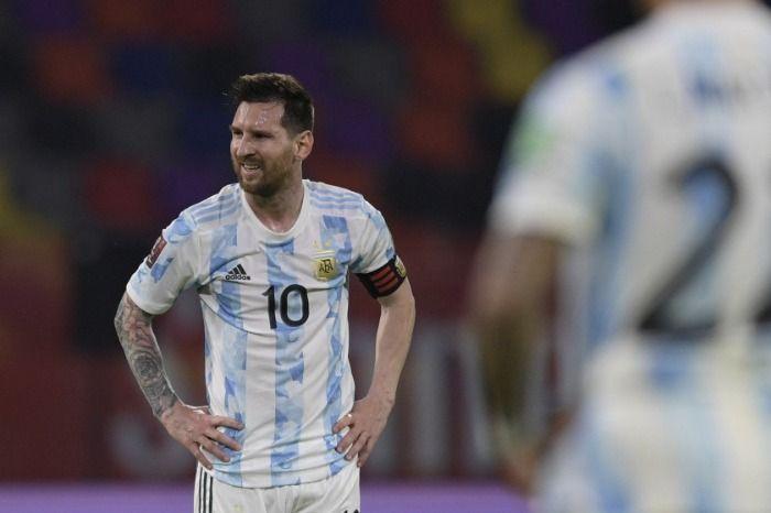 Se lesiono Messi