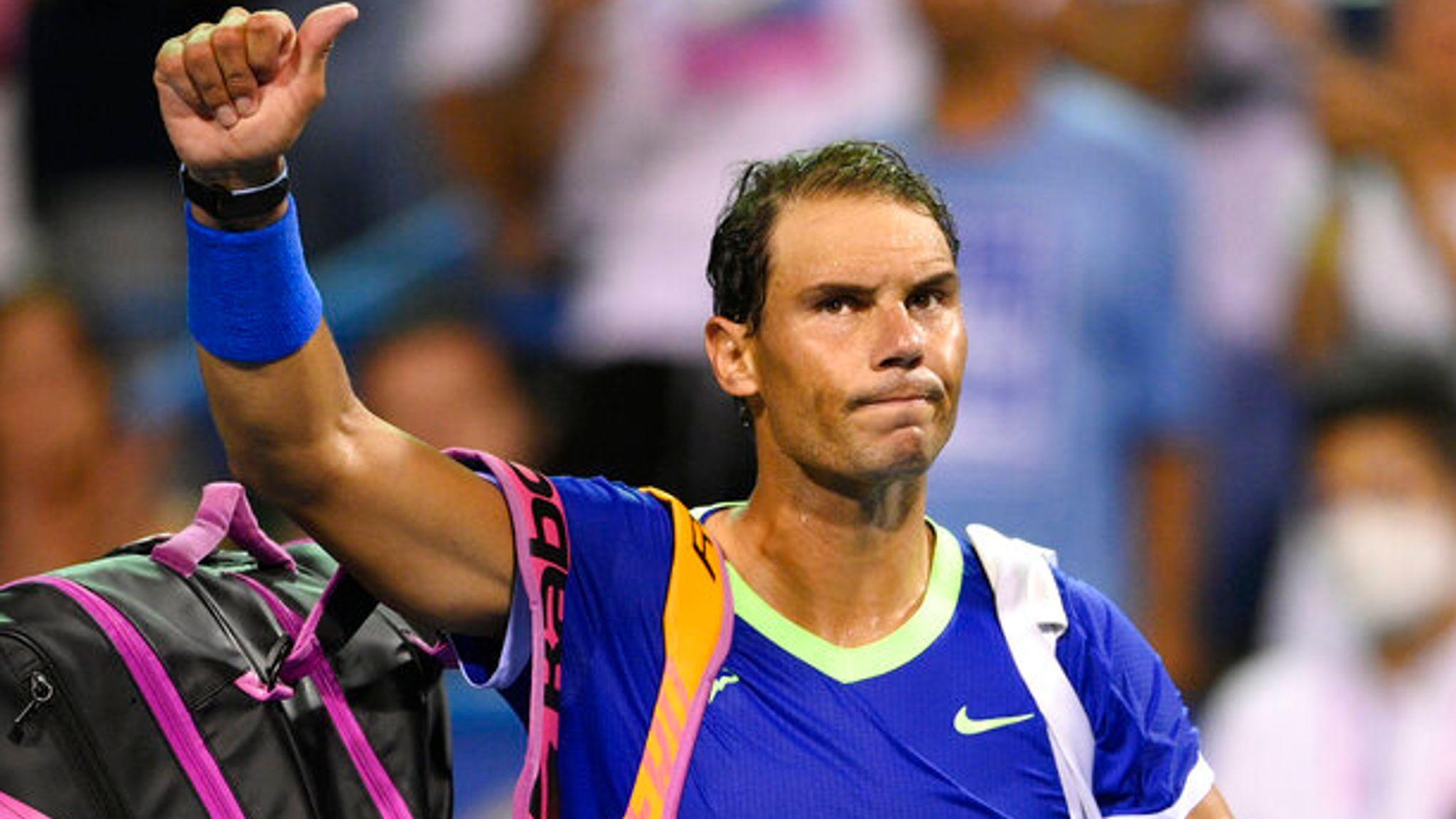 Rafael Nadal à annoncé en début d'après-midi qu'il arrêter sa saison à cause de ses problèmes de santé et insiste ses fans à se faire vacciner.