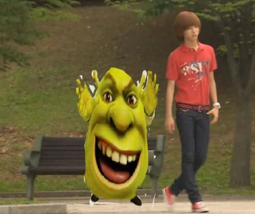 SHREK SEEN HANGING OUT WITH TAEMIN!!!