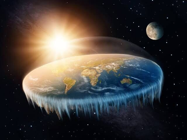 The Earth is actually flat!