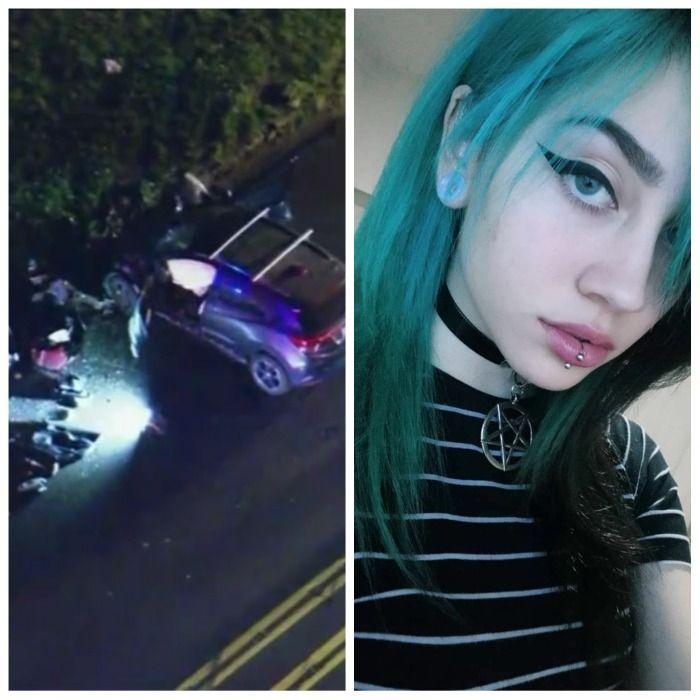 Three young teen's dead after violent car crash