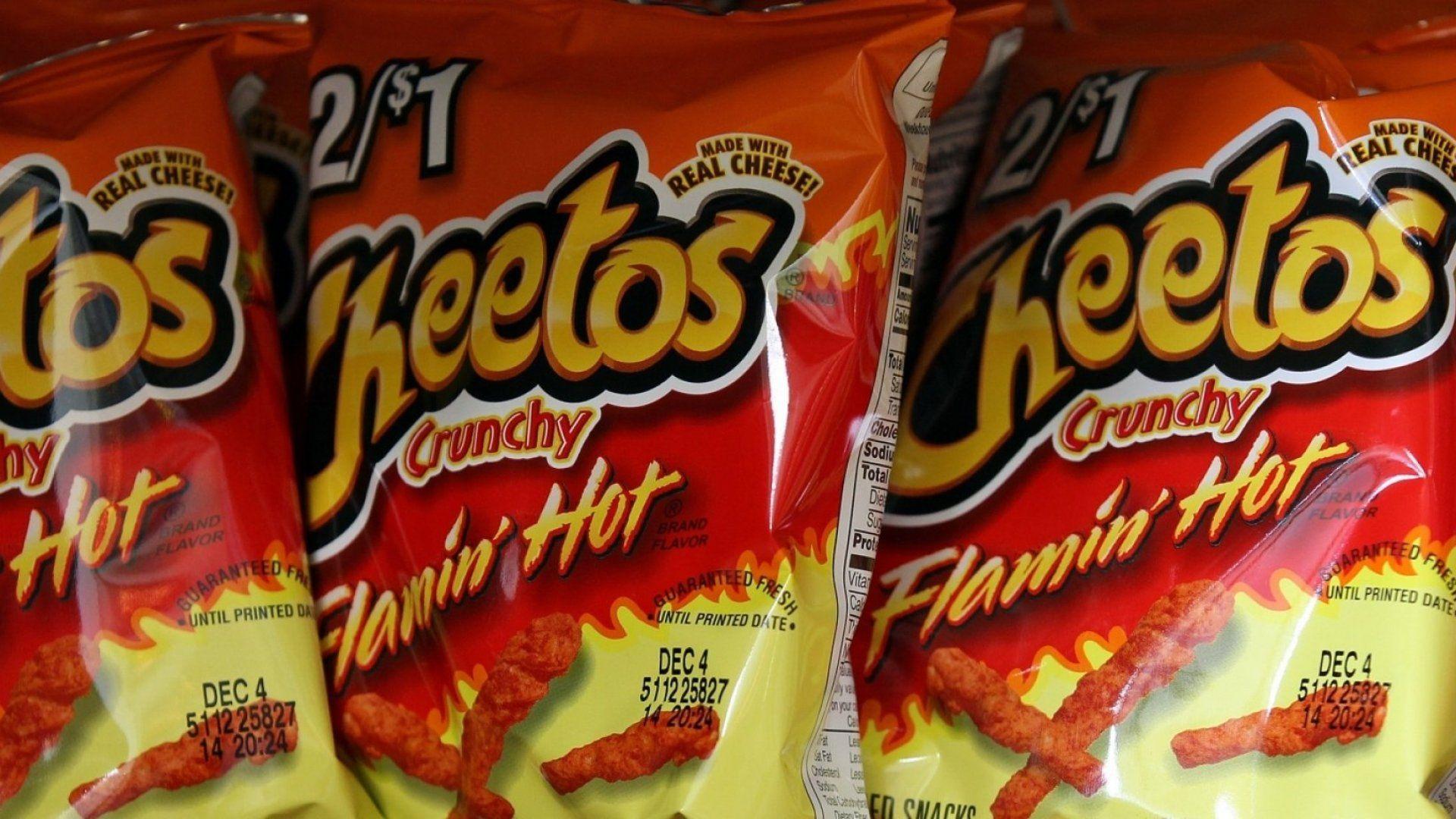 Prohíben venta de Cheetos Flamin HOT