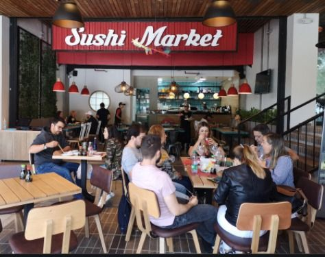 Un triste adios. Sushi Market cierra sus puertas en Medellín.