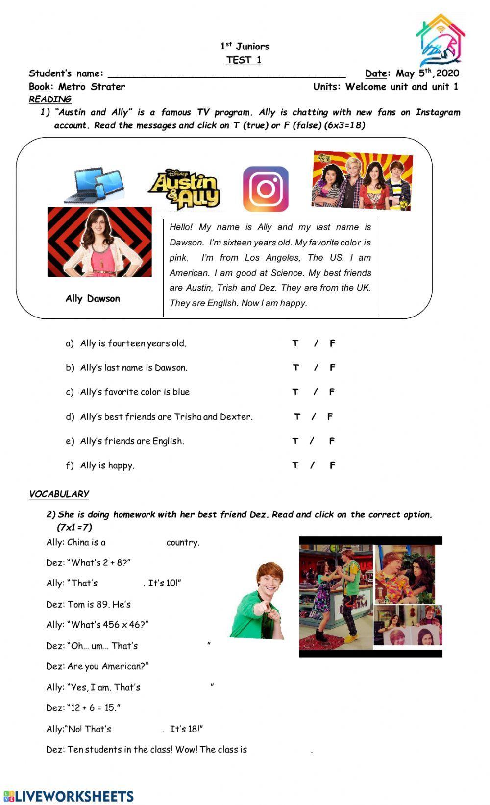 Hanabei's Worksheet