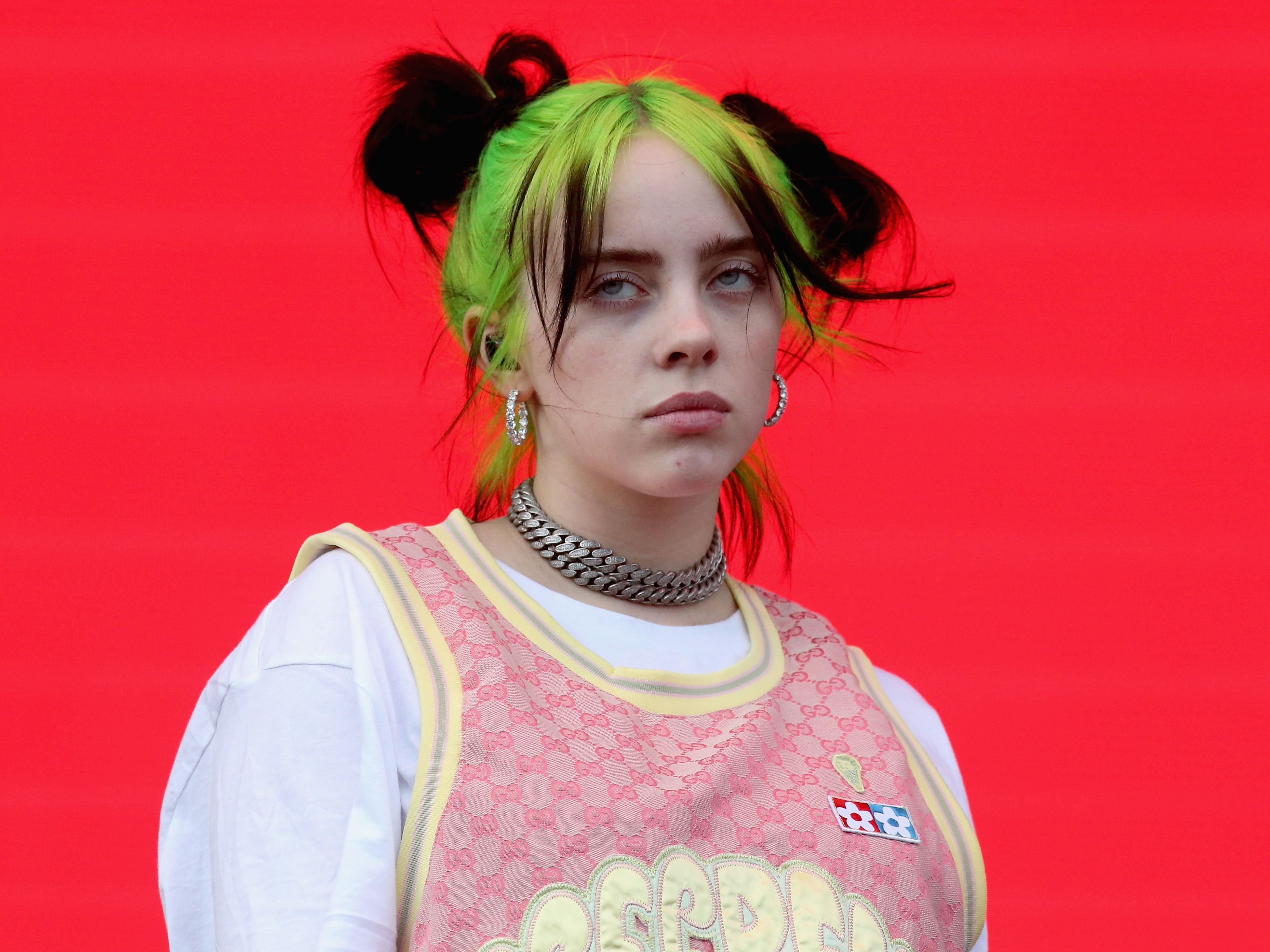 Billie Eilish found dead in the woods at 2:50 am today