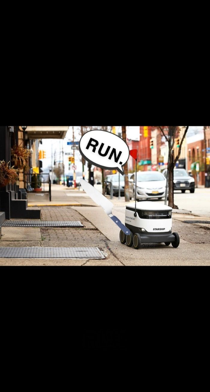 Delivery Robots at the University of Kentucky Are Fighting Back!
